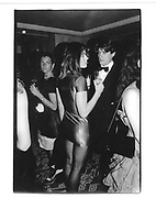 Hugh Grant and Elizabeth Hurley at London nightclub 1986<br />