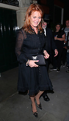 Sarah Ferguson, Duchess of York, at Bourdon House in Mayfair, London, UK. 07/07/2015<br />BYLINE MUST READ : GOTCHAIMAGES.COM<br /><br />Copyright by © Gotcha Images Ltd. All rights reserved.<br />Usage of this image is conditional upon the acceptance <br />of Gotcha Images Ltd, terms and conditions available at<br />www.gotchaimages.com