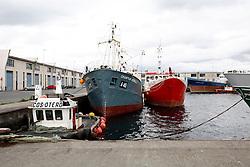SPAIN GALICIA OZA 25AUG11 - Abandoned fishing vessels in the port of Oza in La Coruna, Galicia, Spain...jre/Photo by Jiri Rezac..© Jiri Rezac 2011