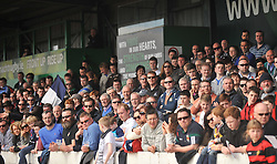 Some of the Westport supporters enjoying the Cuo final in Galway.<br /> Pic Conor McKeown