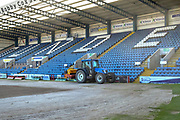 Seeding is complete for the new pitch  at Dens Park, Dundee<br /> <br /> <br />  - &copy; David Young - www.davidyoungphoto.co.uk - email: davidyoungphoto@gmail.com