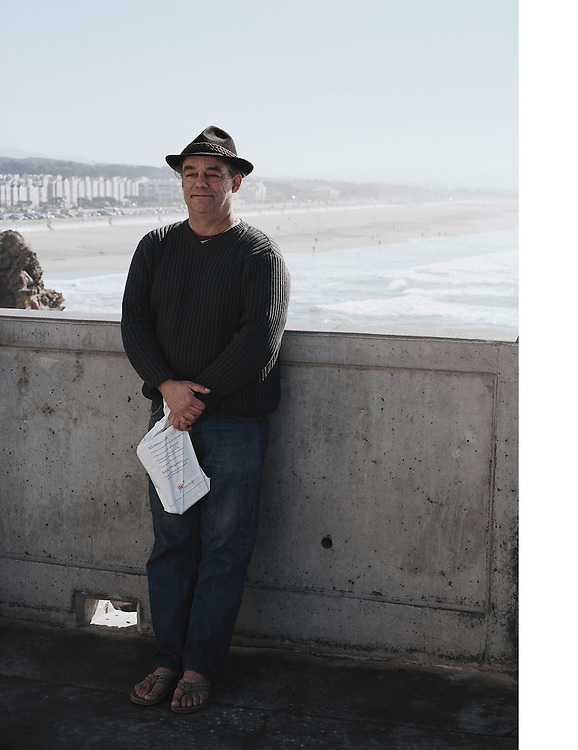 David Gutierez at the beach in San Fransisco California