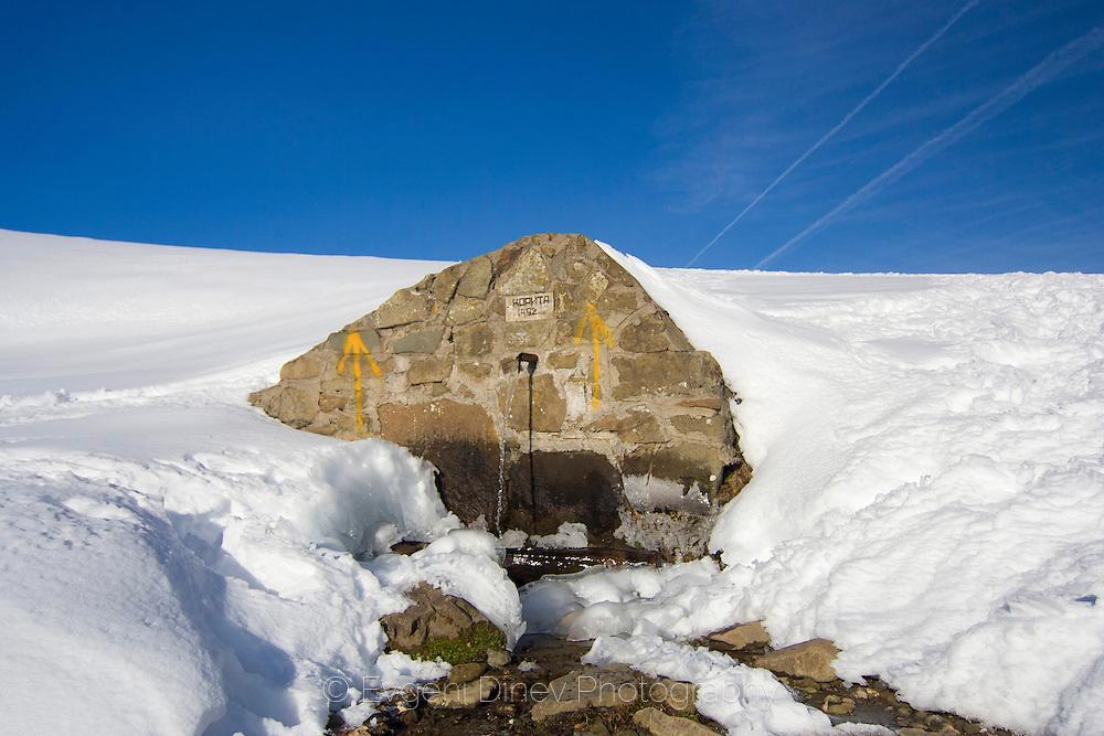 Winter trip to Mazalat hut