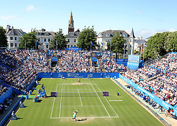 A general view of the stadium as Johanna Konta of Great Britain and Karolina Pliskova of Czech Republic play - Mandatory by-line: Paul Terry/JMP - 24/06/2016 - TENNIS - Devonshire Park - Eastbourne, United Kingdom - Karolina Pliskova v Johanna Konta - Aegon International Eastbourne