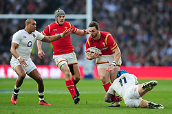 George North of Wales - Mandatory byline: Patrick Khachfe/JMP - 07966 386802 - 12/03/2016 - RUGBY UNION - Twickenham Stadium - London, England - England v Wales - RBS Six Nations.