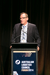 Mr John Mullen, CEO, Asciano. ALC Forum 2014. Day 1. Australian Logistics Council. Royal Randwick Racecourse. Sydney. Photo: Pat Brunet/Event Photos Australia