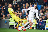 030115 Real Madrid v Villarreal CF, La Liga football match