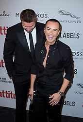 (L-R) Ben Cohen and Julien MacDonald attend the Attitude Pride Awards 2016 at The Grand At Trafalgar Square, central London. Monday October 10, 2016. Photo credit should read: Isabel Infantes / EMPICS Entertainment.