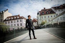Portrait of Slovenian blogger Rene Dopler, on November 14, 2016 in Ljubljana, Slovenia. Photo by Vid Ponikvar / Sportida