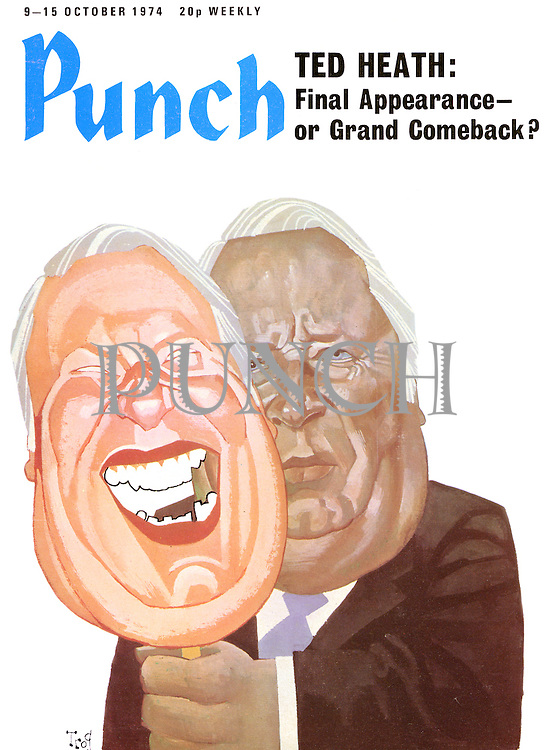 Punch (front cover, 9 October 1974)