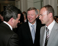 HMV FE Dinner 2006 in honour of Alan Shearer, The Grosvenor Hotel, London.18th April, 2006.