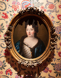 Portrait of Sophie Dorothea by Pierre Mignard at The Celle Palace or Celle Castle in Celle, Lowery Saxony, Germany