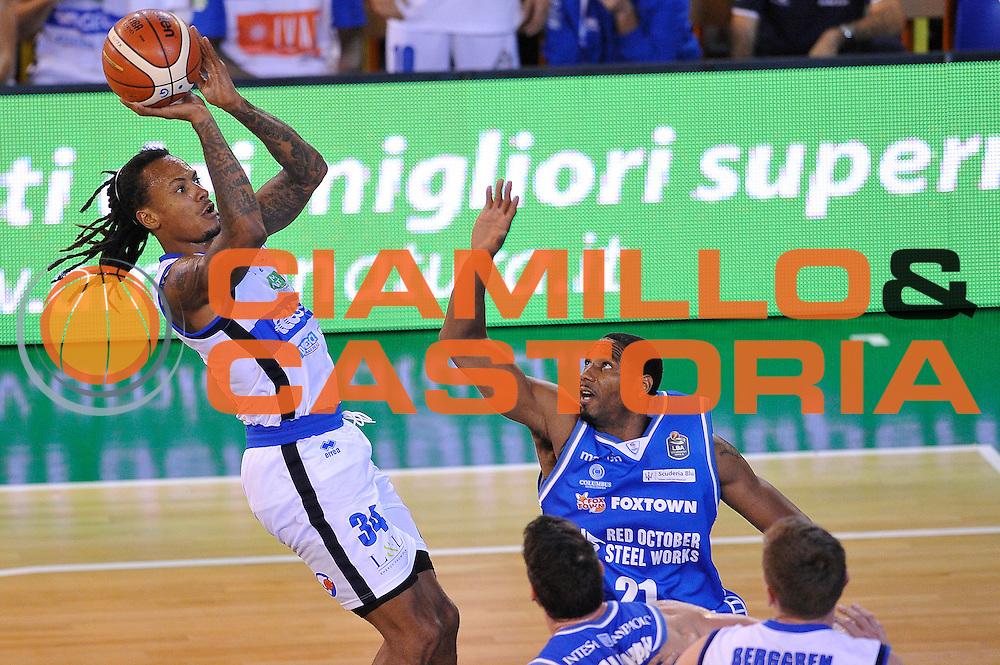 Davis Moss<br /> Germani Basket Brescia - Red October Cantu'<br /> LegaBasket 2016/2017<br /> Brescia 09/10/2016<br /> Foto Ciamillo-Castoria