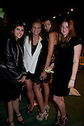 TALAR BILEMJIAN; CLARY ASPINALL; TIJAN SELENA; JESSICA -ROSE BURTON. The Ormeley dinner in aid of the Ecology Trust and the Aspinall Foundation. Ormeley Lodge. Richmond. London. 29 April 2009