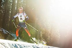 Martin Otcenas (SVK) during the Men 20 km Individual Competition at day 1 of IBU Biathlon World Cup 2019/20 Pokljuka, on January 23, 2020 in Rudno polje, Pokljuka, Pokljuka, Slovenia. Photo by Peter Podobnik / Sportida