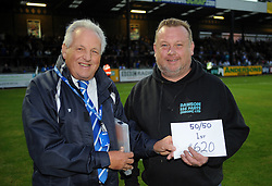 50/50 winner - Mandatory by-line: Neil Brookman/JMP - 11/08/2016 - FOOTBALL - Memorial Stadium - Bristol, England - Bristol Rovers v Cardiff City - EFL League Cup