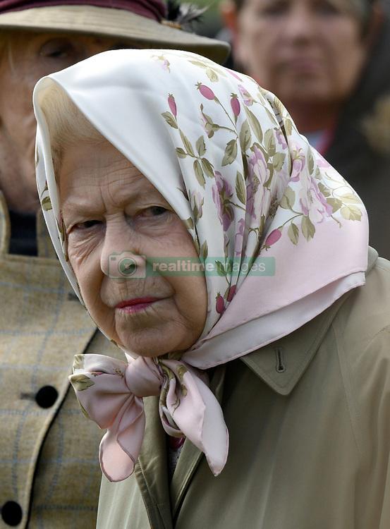 Queen Elizabeth attends the Royal Windsor Horse Show in Windsor