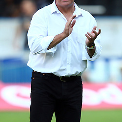 DURBAN, SOUTH AFRICA - MARCH 26: Gary Gold (Sharks Director of Rugby) during the Super Rugby match between Cell C Sharks and BNZ Crusaders at Growthpoint Kings Park on March 26, 2016 in Durban, South Africa. (Photo by Steve Haag)<br /> <br /> images for social media must have consent from Steve Haag
