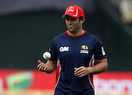Highveld lions player Neil Mckenzie during the warm up session of match 4 of the Karbonn Smart Champions League T20 (CLT20) 2013  between The Highveld Lions and the Perth Scorchers held at the Sardar Patel Stadium, Ahmedabad on the 23rd September 2013<br /> <br /> Photo by Vipin Pawar-CLT20-SPORTZPICS  <br /> <br /> Use of this image is subject to the terms and conditions as outlined by the CLT20. These terms can be found by following this link:<br /> <br /> http://sportzpics.photoshelter.com/image/I0000NmDchxxGVv4