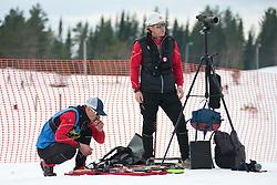 Coach, USA, Short Distance Biathlon, 2015 IPC Nordic and Biathlon World Cup Finals, Surnadal, Norway