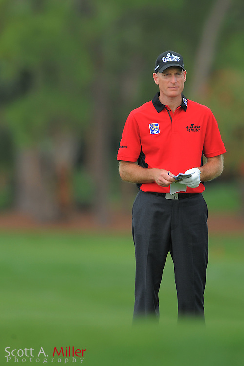 Jim Furyk during the first round of the Honda Classic at PGA National on March 1, 2012 in Palm Beach Gardens, Fla. ..©2012 Scott A. Miller.