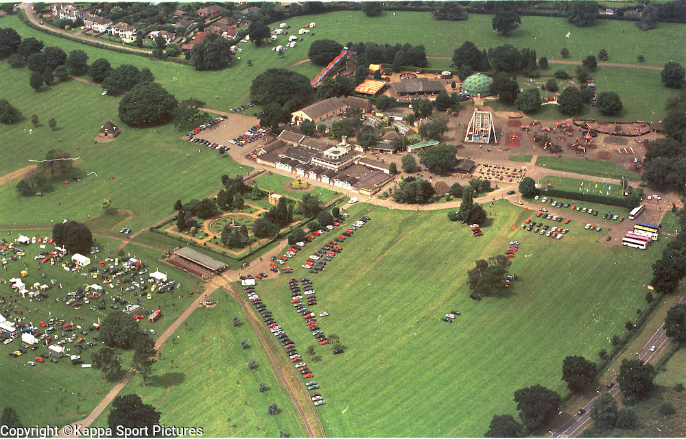 Old Wicksteed Park Pictures, Air Views Motor Show, July 2000