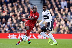 LONDON, ENGLAND - Sunday, March 17, 2019: Liverpool's Sadio Mane during the FA Premier League match between Fulham FC and Liverpool FC at Craven Cottage. (Pic by David Rawcliffe/Propaganda)