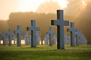 Graves are seen at the St. Mihiel American Cemetery, in Thiaucourt, France. (Photo by Warrick Page/ABMC)