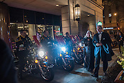 INDIANA MOTORCYCLE COPS, Indiana Inauguration Ball Grand Hyall, Washington. DC . 19 January 2017