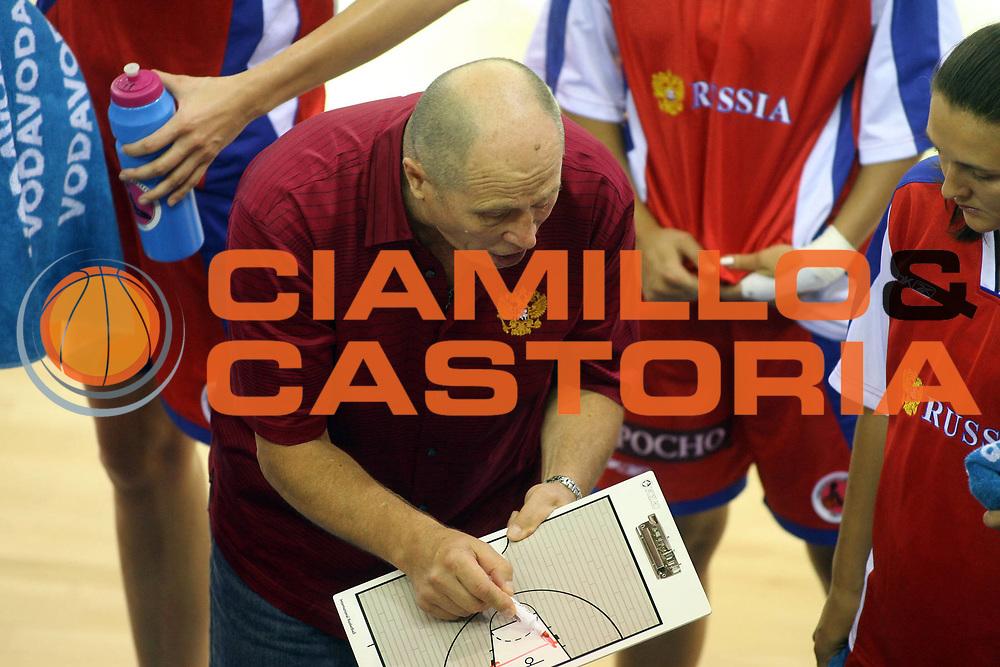 DESCRIZIONE : Ortona Italy Italia Eurobasket Women 2007 Spagna Russia Spain Russia<br /> GIOCATORE : Igor Grudin<br /> SQUADRA : Russia<br /> EVENTO : Eurobasket Women 2007 Campionati Europei Donne 2007 <br /> GARA : Spagna Russia Spain Russia<br /> DATA : 03/10/2007 <br /> CATEGORIA :<br /> SPORT : Pallacanestro <br /> AUTORE : Agenzia Ciamillo-Castoria/E.Castoria<br /> Galleria : Eurobasket Women 2007 <br /> Fotonotizia : Ortona Italy Italia Eurobasket Women 2007 Spagna Russia Spain Russia<br /> Predefinita :