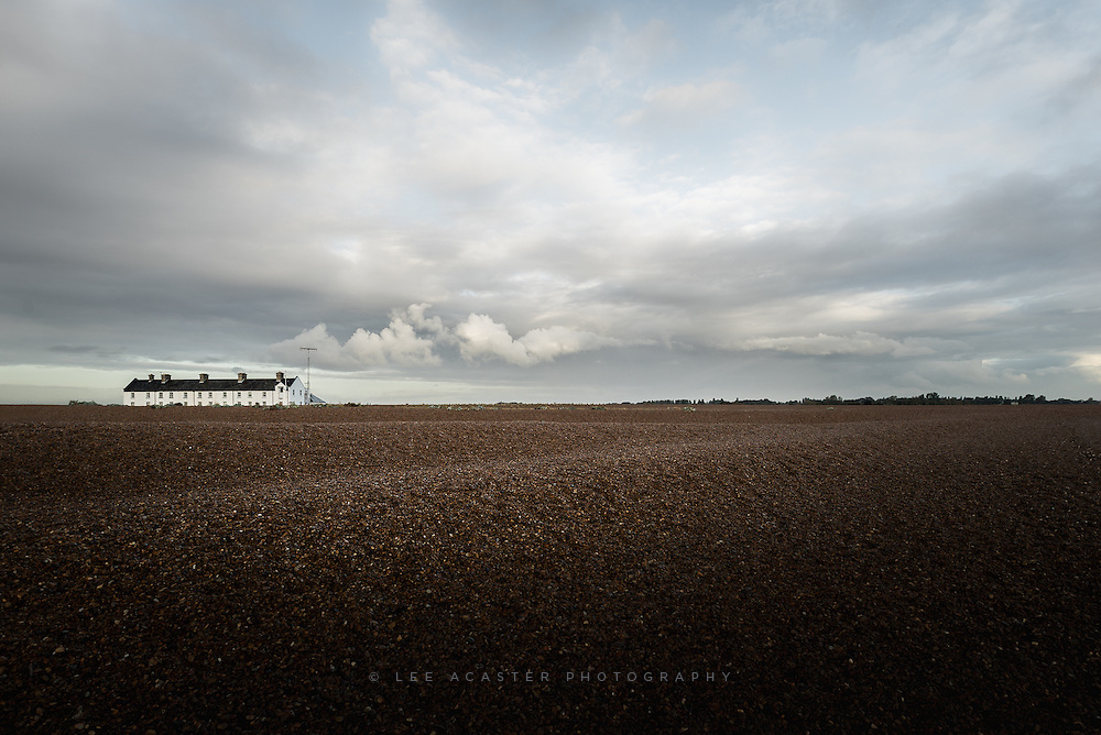 Nice mornig at Shingle Street on Thursday morning
