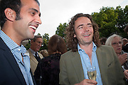 AATISH TASEER; JAMIE BYNG, David Campbell and Knopf host the 20th Anniversary of the revival of Everyman's Library. Spencer House. St. James's Place. London. 7 July 2011. <br /> <br />  , -DO NOT ARCHIVE-© Copyright Photograph by Dafydd Jones. 248 Clapham Rd. London SW9 0PZ. Tel 0207 820 0771. www.dafjones.com.