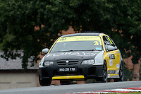 #31 Jack Roberts MG ZR 170 during the The John Woods Motorcars MG Trophy Championship at Oulton Park, Little Budworth, Cheshire, United Kingdom. September 03 2016. World Copyright Peter Taylor/PSP.
