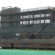Stevenson Stadium Construction