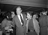 1953 - 10/09 Bob Hope and Gloria de Haven arrive in Dublin