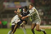 Twickenham, England, RFU Twickenham Stadium, Surrey, 10.12.2002.<br /> 2002 Varsity Rugby - Oxford vs Cambridge<br /> Oxford No. 8 David Lubans    [Mandatory Credit:Peter SPURRIER/Intersport Images]
