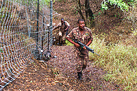 Rapid response call out after poachers hunting with dogs, Somkkhanda Private, Game Reserve, Zululand, KwaZulu Natal, South Africa