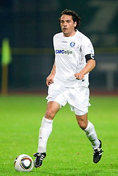 Danijel Brezic of Celje during the football match between NK Domzale and MIK CM Celje, played in the 10th Round of Prva liga football league 2010 - 2011, on September 22, 2010, Spors park, Domzale, Slovenia. Domzale defeated Celje 1 - 0. (Photo by Vid Ponikvar / Sportida)