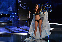 Lily Aldridge on the catwalk for the Victoria's Secret Fashion Show at the Mercedes-Benz Arena in Shanghai, China