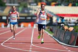 BLAKE Paul, AREFYEV Artem, GBR, RUS, 800m, T36, 2013 IPC Athletics World Championships, Lyon, France