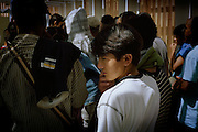 [English]  Ali-Karam, 15, is Hazara. This minority is trying to reconstruct in Afghanistan, after having been persecuted by Massoud's army and Talibans.<br /> <br /> [Francais]  Ali-Karam est Hazara. Massacrée et persecutée par les hommes du parti de Massoud puis sous les Talibans, cette ethnie tente de se reconstruire mais reste soumise a de nombreuses discriminations en Afghanistan. Issu d'une famille tres pauvre, Ali-Karam n'a pas eu acces a l'education. C'est son oncle qui a insiste pour qu'il parte travailler en Europe dans le but d'envoyer ensuite de l'argent a sa famille restee en Afghanistan. Comme beaucoup de jeunes dans sa situation, c'est donc vers l'Angleterre qu'il se dirigera, apres trois semaines a Paris. Il n'a pas encore 15 ans.