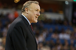 March 7, 2011; Sacramento, CA, USA;  Houston Rockets head coach Rick Adelman on the sidelines against the Sacramento Kings during the second quarter at the Power Balance Pavilion. Houston defeated Sacramento 123-101.