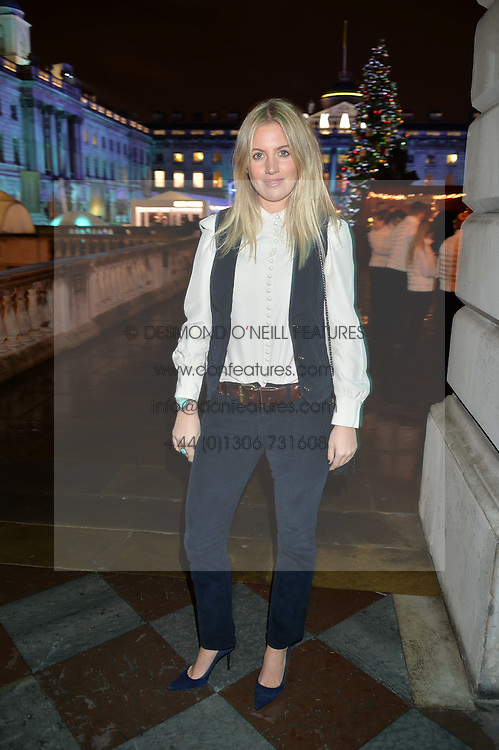 MARISSA MONTGOMERY at Skate At Somerset House with Fortnum & Mason on 16th November 2016.