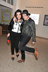 NANCY DELL'OLIO and TIM NOBLE at the Swarovski Whitechapel Gallery Art Plus Fashion fundraising gala in support of the gallery's education fund held at The Whitechapel Gallery, 77-82 Whitechapel High Street, London E1 on 14th March 2013