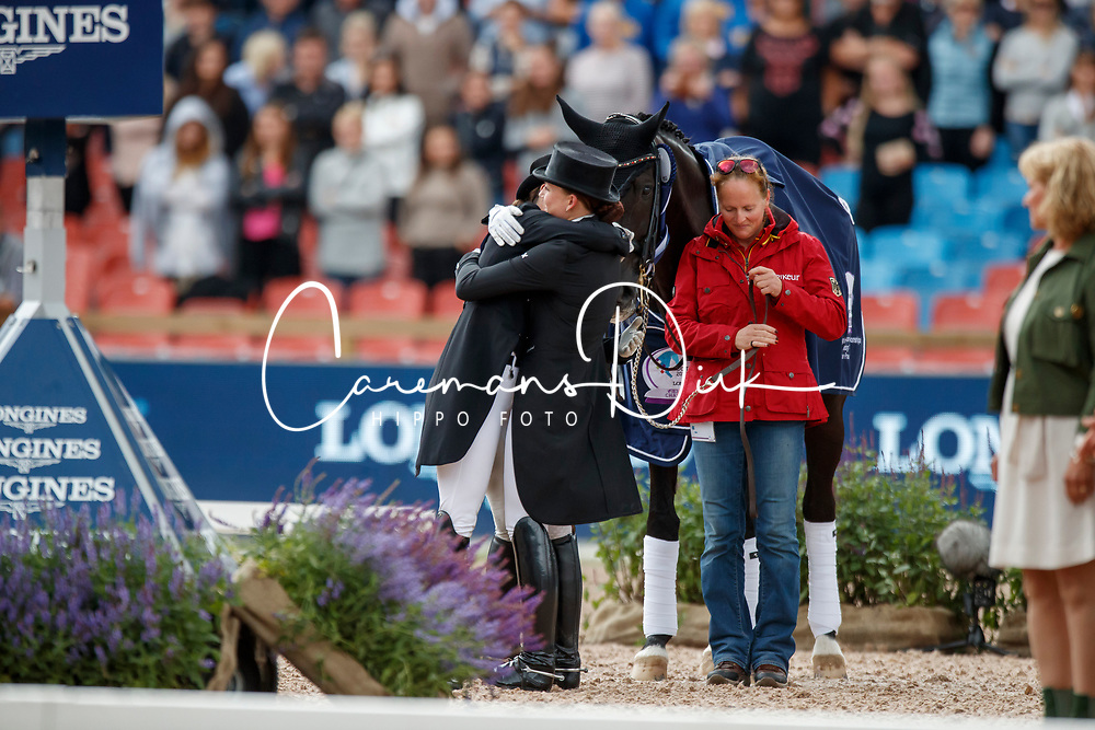 Werth Isabell, GER, Weihegold OLD, Dufour Catherine, DEN<br /> FEI European Driessage Championships - Goteborg 2017 <br /> &copy; Hippo Foto - Dirk Caremans<br /> 26/08/2017,