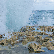 The Blowholes. Grand Cayman Island. East End.