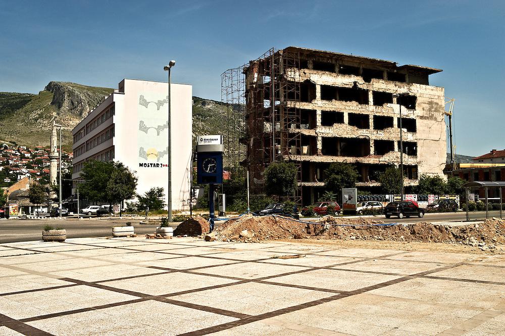 Central Mostar, Bosnia and Herzegovina