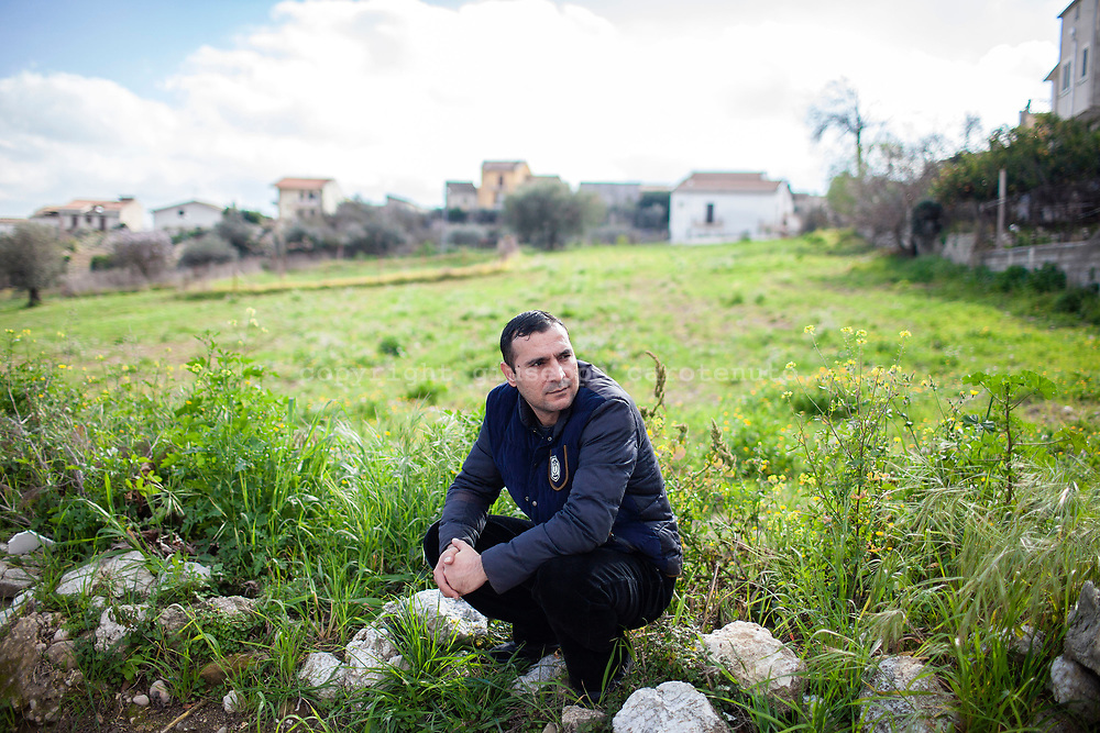 3 Febbraio 2016, Milena, Sicilia, Italia - Hamid Hasas, 38 anni.