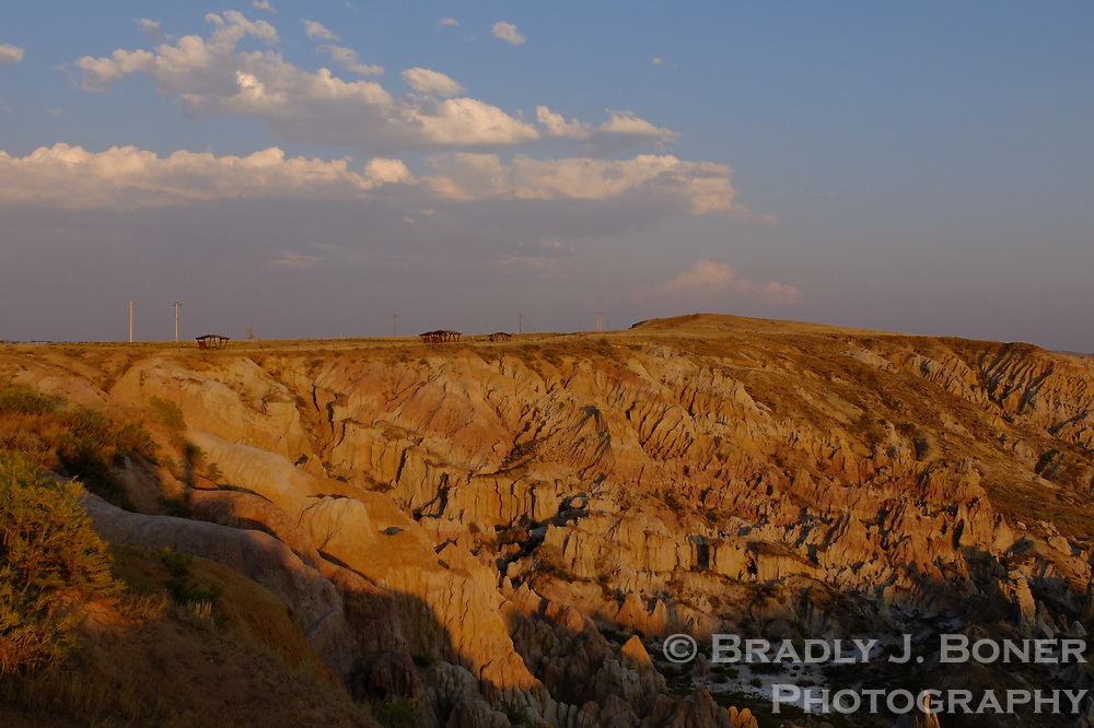 Hell's Half Acre, Natrona County, Wyoming.