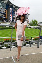 JACKIE ST.CLAIR at Day 1 of the 2013 Royal Ascot Racing Festival at Ascot Racecourse, Ascot, Berkshire on 18th June 2013.